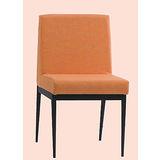 Emma 黑腳布餐椅496-4(橘)