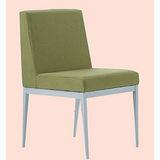 Emma白腳布餐椅496-6(綠)
