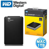 WD My PassPort Studio 1TB 2.5吋行動硬碟(MAC)