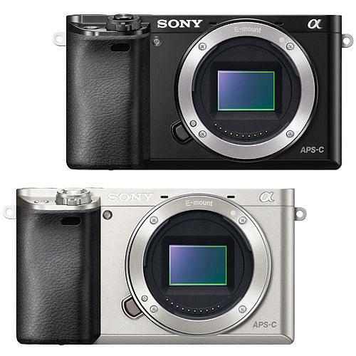 SONY A6000 單機身(公司貨)-送64G卡+專用鋰電池x2+專用座充+遙控器+相機包+HDMI+吹球拭鏡筆清潔組+快門線