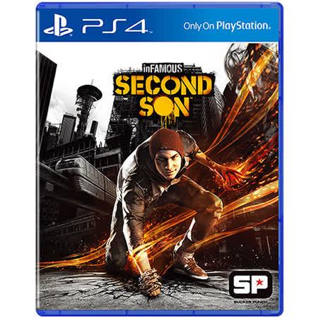 PS4遊戲 惡名昭彰:第二之子-亞洲中文版