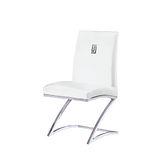 Mitchell皮餐椅495-11(白)