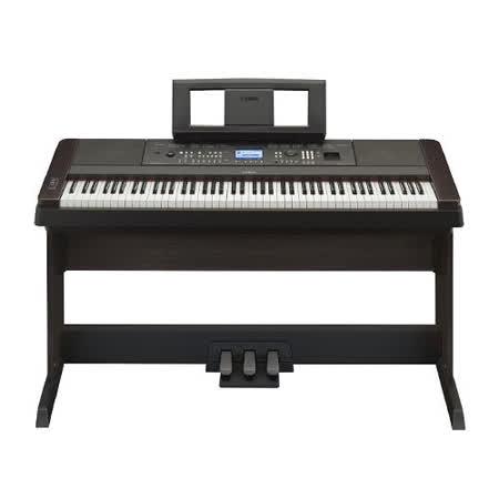 【YAMAHA】88鍵 電鋼琴 數位鋼琴 台灣公司貨 黑色(DGX-650)