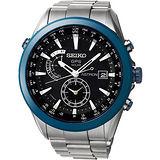 SEIKO ASTRON GPS 電波太陽能限量鈦金屬腕錶 7X52-0AD0D