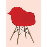 Lily 百合筷子椅500-3(紅)