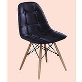 Rena皮質筷子椅500-5(黑)
