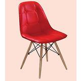 Rena皮質筷子椅500-7(紅)