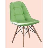 Rena皮質筷子椅500-8(綠)