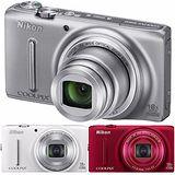 Nikon Coolpix S9400 18倍望遠變焦機(公司貨)-加送TOSHIBA 8G WiFi卡+專用鋰電池+專用座充(附車充)+清保組+讀卡機+桌上型小腳架