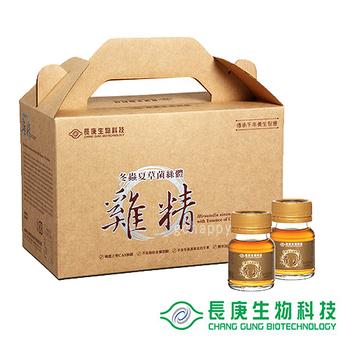 【長庚生技】冬蟲夏草菌絲體雞精1盒(30入/盒)