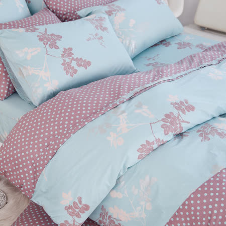 OLIVIA 《瑪格麗特》單人床包枕套兩件組