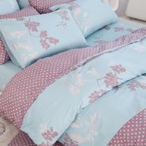 OLIVIA 《瑪格麗特》特大雙人床包枕套組