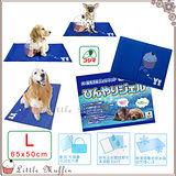 日本KOJIMA 狗.貓超涼舒適果凍凝膠軟式涼墊 涼床 L號 65x50cm 科基 柴犬可用