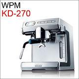惠家 WPM KD-270 義式半自動咖啡機-銀色 220V (HG0961S)