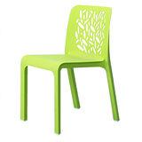 【空間生活】菲凡餐椅-兩入(綠)