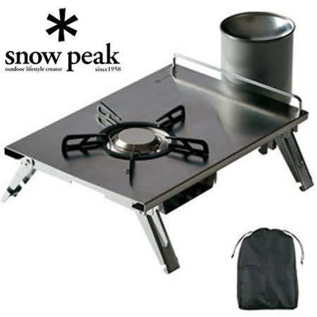 【日本Snow Peak】 公司貨 經典單口爐/瓦斯爐/非汽化爐 GigaPower Plate Burner LI GS-400/GS400