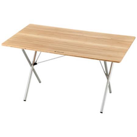 【日本 Snow Peak】賣款 大型快速竹折桌-加長折疊桌.木桌.收納桌 LV-015T