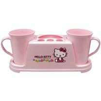 Hello Kitty小花雙人洗漱杯架KT0204
