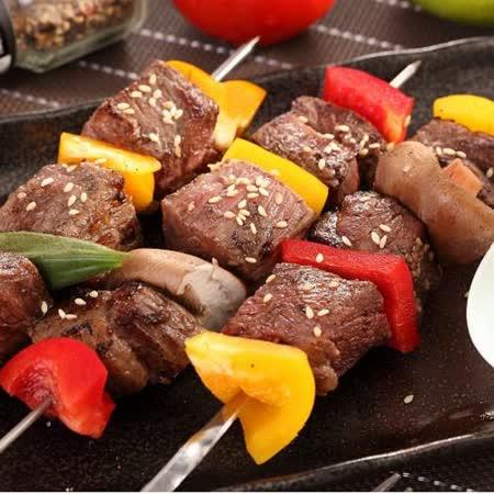 【上野物產】美國安格斯黑牛骰子牛肉6包(200g土10%/包)