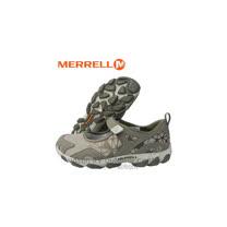 【美國 MERRELL】女新款 水陸兩棲登山健行鞋/運動鞋.娃娃鞋.輕量.適自行車.健走.溯溪.慢跑.止滑/灰色 J24720