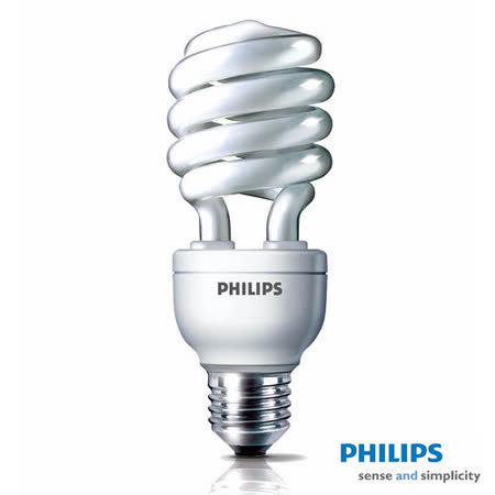 PHILIPS飛利浦 Helix 23W螺旋省電燈泡(3入組)
