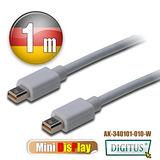 曜兆DIGITUS Mini DisplayPort-1公尺圓線(公-公)
