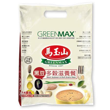 【馬玉山】黑豆多穀滋養餐(14小包/袋)