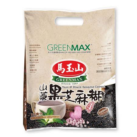 【馬玉山】山藥黑芝麻糊(13小包/袋)