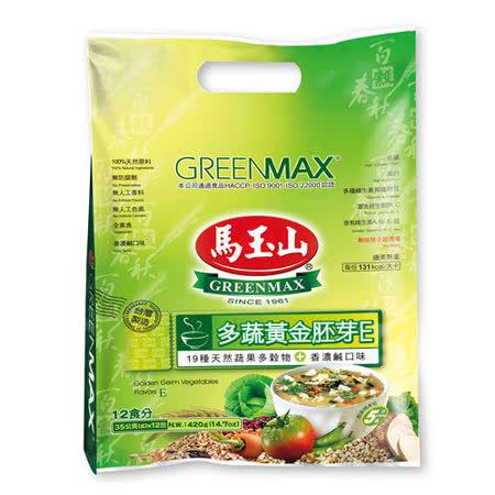 【馬玉山】多蔬黃金胚芽E(12小包/袋)