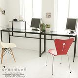 皇家級L型玻璃工作桌