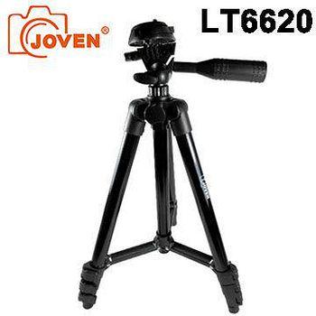 JOVEN LT6620 (LT-6620) 鋁合金 輕便三腳架-黑色 (展開約103公分) 附腳架套~入門級好選擇