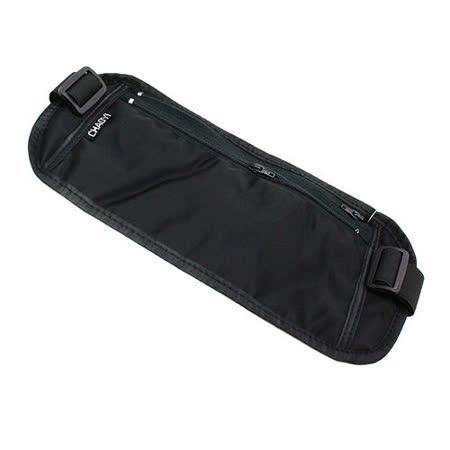 PUSH!嚴選 超薄腰包騎行包防搶防盜腰包護照包隱形貼身腰包CHAOYI