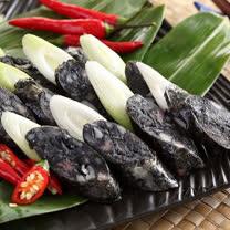 【上野物產】墨魚香腸(300g土10%/5條/包)共6包