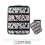 《Traveler Station》HAPI+TAS iPad 護套-黑色愛麗絲