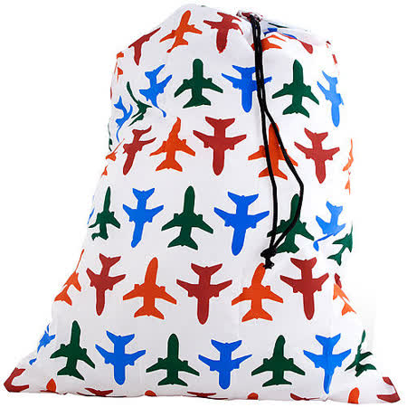 《KIKKERLAND》衣物束口袋(飛機)
