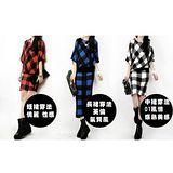 【韓系女衫】時尚中大碼  一件多穿百變款連衣裙