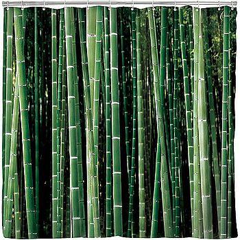 《KIKKERLAND》浴簾(竹子)
