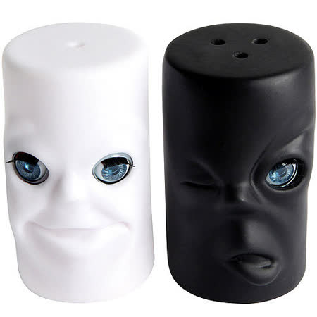 《KIKKERLAND》黑白眨眼調味罐