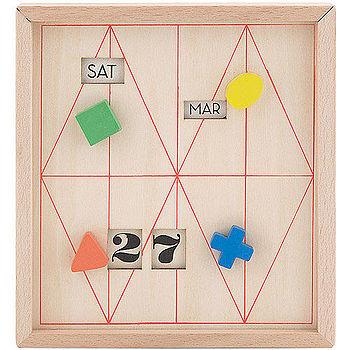 《KIKKERLAND》日曆收納盒