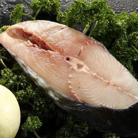 【上野物產】澎湖土魠魚厚切(400g土10%/片),共4片