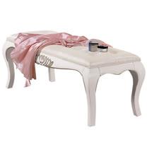 HAPPYHOME 夏洛蒂4.3尺法式床尾凳029-6