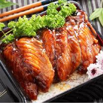 【上野物產】日式蒲燒鯛魚腹排10包(90g土10%/2片/包)