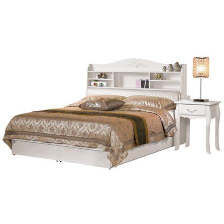 HAPPYHOME 仙朵拉5尺被櫥式雙人床067-1(只含床頭-床底-不含床墊-床頭櫃)