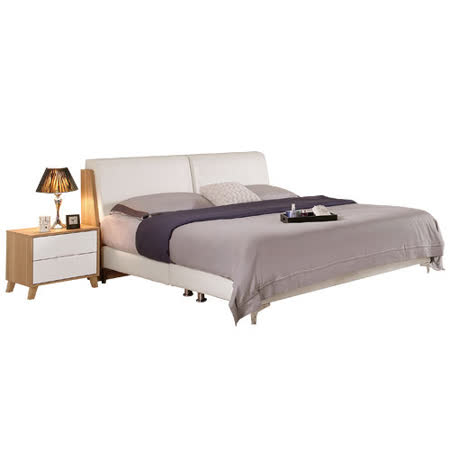 HAPPYHOME 羅德尼5尺雙人床081-2(只含床頭-床架-不含床墊、床頭櫃)