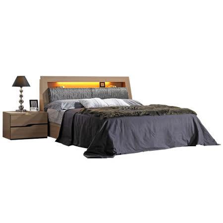 HAPPYHOME 威爾斯5尺床箱型雙人床097-2(只含床頭-床底-不含床墊、床頭櫃)