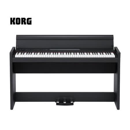 【KORG】數位鋼琴 電鋼琴 日本製 原廠公司貨保固 黑色(LP-380)