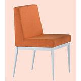 Emma白腳布餐椅496-8(橘)
