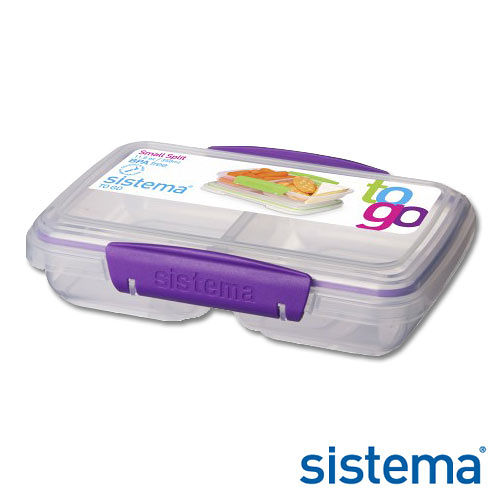 _~Sistema~紐西蘭 外出雙格收納保鮮盒350ml