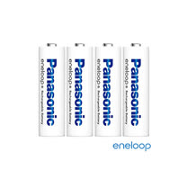 Panasonic國際牌eneloop低自放充電電池組(3號4入)