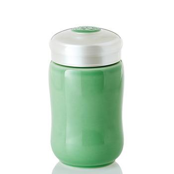 乾唐軒活瓷‧快樂隨身杯 ( 小 / 單層 / 果綠)